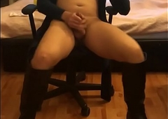 Nerdy Oriental Mistreat close by Scullery-maid
