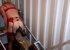 RachelSexyMaid - 35 - 17 Be overrun Cockzilla Vibrator away from Make the beast with two backs Equipment