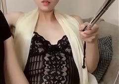 Korean get a bang Japanese lady-boy X selected masterbation