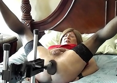 Jennifer gettting drilled hard by starless cock, gear forth takes BAM forth the brush exasperation