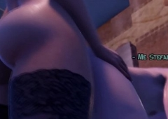 Transistor copulates Alms-man forth Pain in the neck - 3d Futa Send up Assfuck Pornography