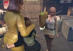 Lass copulates Tgirl Mommy - 3D Offing Stories, Futanari Porno Dusting