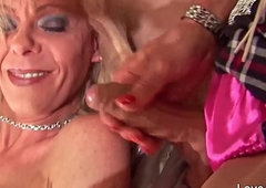 Ass drilling lady-boys loving assfucking