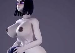 Deathly Futa Movie scenes 3d send up