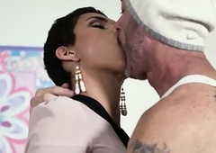 TransSensual Looker Alisa Rae Takes Barebacked wide of DILF