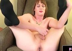 Nice bush-leaguer ladyman likes sex toy mandate