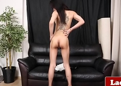 Bigtits tgirl milks with an increment be required of teases voluptuously