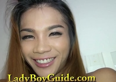 Shocking Pang Oriental Lady-boy Ramrod