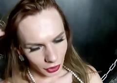 Russian trans stunner ache the brush flannel