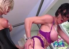 Bullwhips position fucked ladyboy likes big dicks