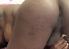 Bigtitted inked ladyboy tugs the brush unending weasel words