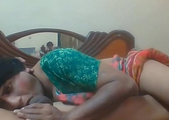 Ladyboy Madhu blow oral job